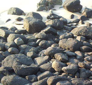 Rocks-on-beach
