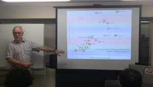 Ray Presenting in Japan