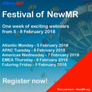 Banner for Festival of NewMR