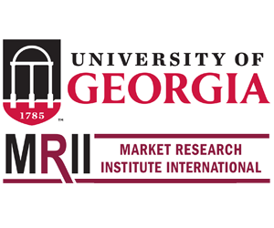 Sponsorship booth logo of MRII University of Georgia