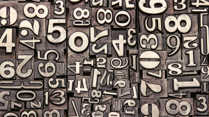 Image of digits