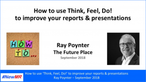 Front page of Ray's PowerPoint