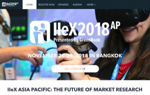 IIeX APAC 2018
