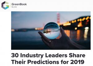 GreenBook Predictions 2019