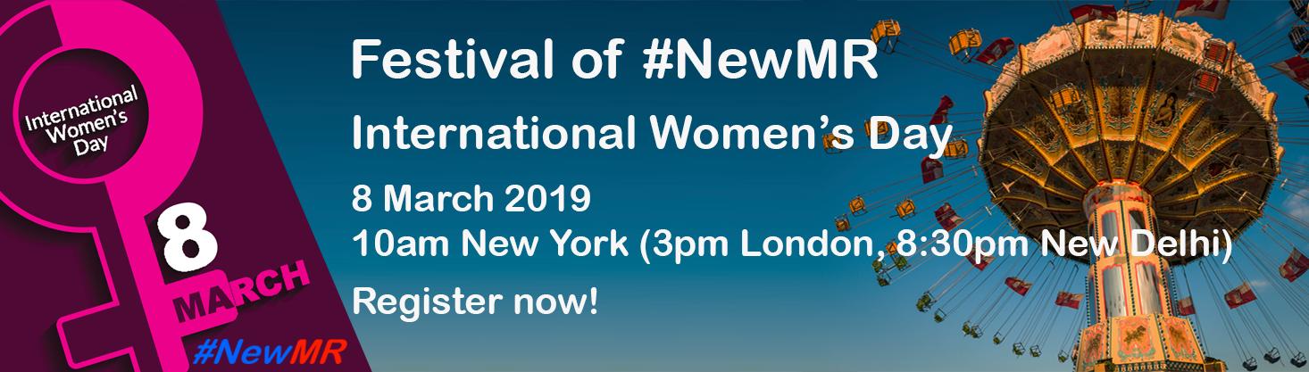IWD - Festival of NewMR