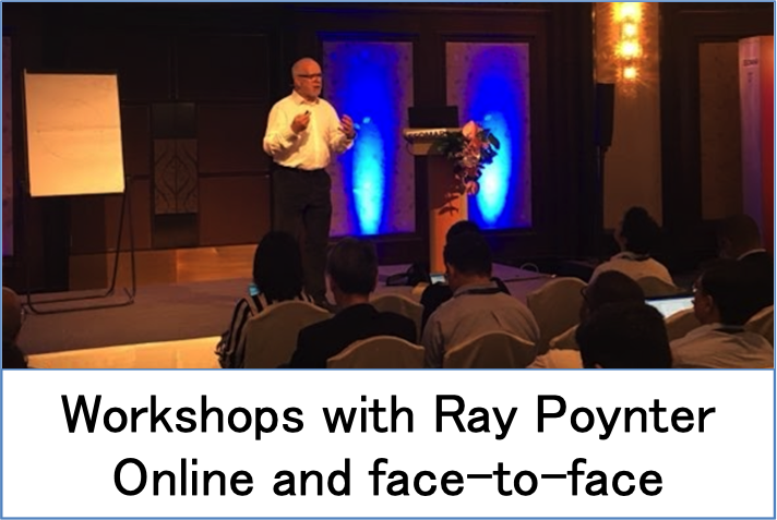 Workshops with Ray Poynter