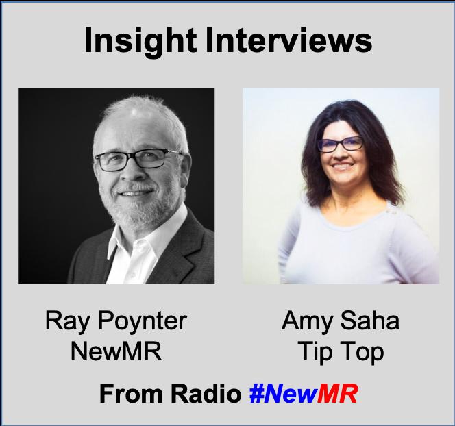 Ray Poynter and Amy Saha