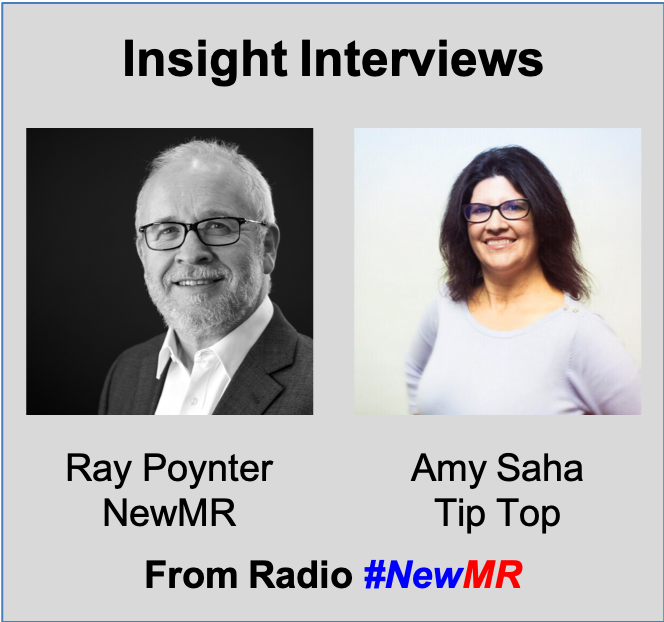Amy Saha & Ray Poynter