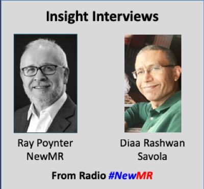 Diaa Rashwan and Ray Poynter interviewer