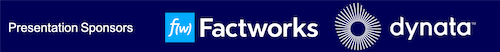 Factworks and Dynata logos