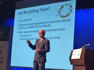 Ray presenting at JMRA