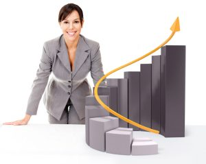 Woman and Growth Graph