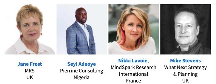 FF speakers Jane Frost, Seyi Adeoye, Nikki Lavoie, Mike Stevens