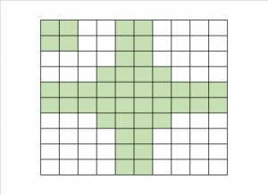 Test grid from experiment